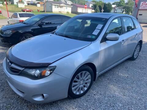 2010 Subaru Impreza for sale at Trocci's Auto Sales in West Pittsburg PA