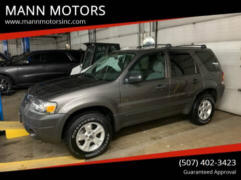 2006 Ford Escape for sale at MANN MOTORS in Albert Lea MN