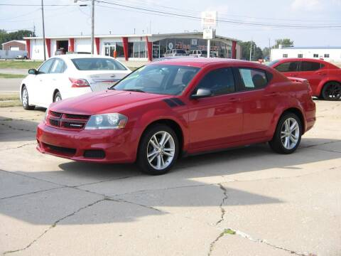 2014 Dodge Avenger for sale at Rochelle Motor Sales INC in Rochelle IL
