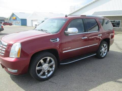 2010 Cadillac Escalade for sale at SWENSON MOTORS in Gaylord MN