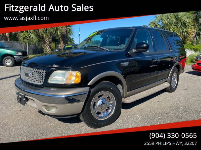2002 Ford Expedition for sale at Fitzgerald Auto Sales in Jacksonville FL