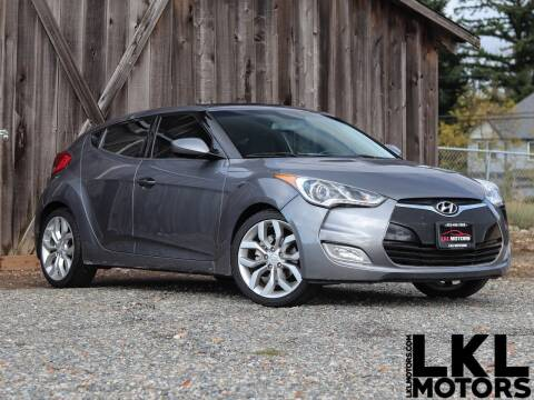 2012 Hyundai Veloster for sale at LKL Motors in Puyallup WA
