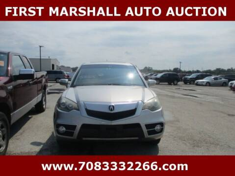 2011 Acura RDX for sale at First Marshall Auto Auction in Harvey IL