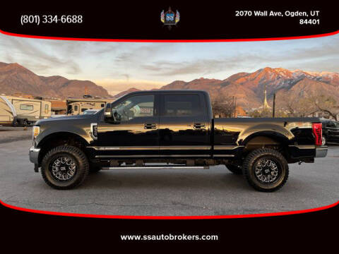 2019 Ford F-350 Super Duty for sale at S S Auto Brokers in Ogden UT