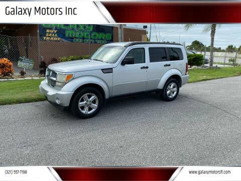 2007 Dodge Nitro for sale at Galaxy Motors Inc in Melbourne FL