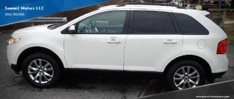 2013 Ford Edge for sale at Summit Motors LLC in Morgantown WV