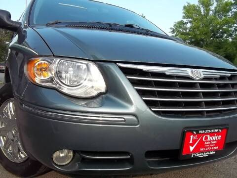 2005 Chrysler Town and Country for sale at 1st Choice Auto Sales in Fairfax VA