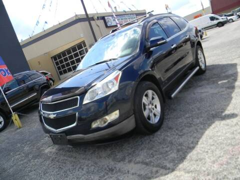 2012 Chevrolet Traverse for sale at Meridian Auto Sales in San Antonio TX