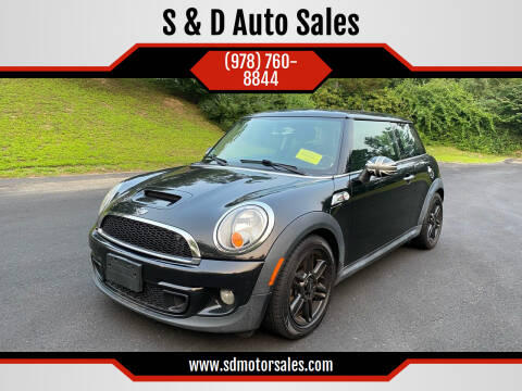 2012 MINI Cooper Hardtop for sale at S & D Auto Sales in Maynard MA