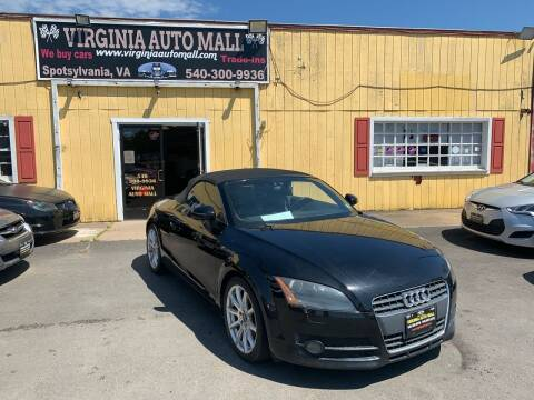 2008 Audi TT for sale at Virginia Auto Mall in Woodford VA