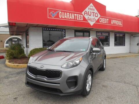 2017 Kia Sportage for sale at Oak Park Auto Sales in Oak Park MI