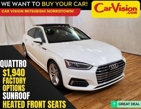 2019 Audi A5 Sportback for sale at Car Vision Mitsubishi Norristown in Trooper PA