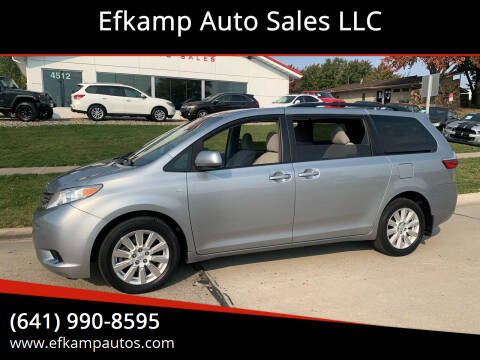 2017 Toyota Sienna for sale at Efkamp Auto Sales LLC in Des Moines IA