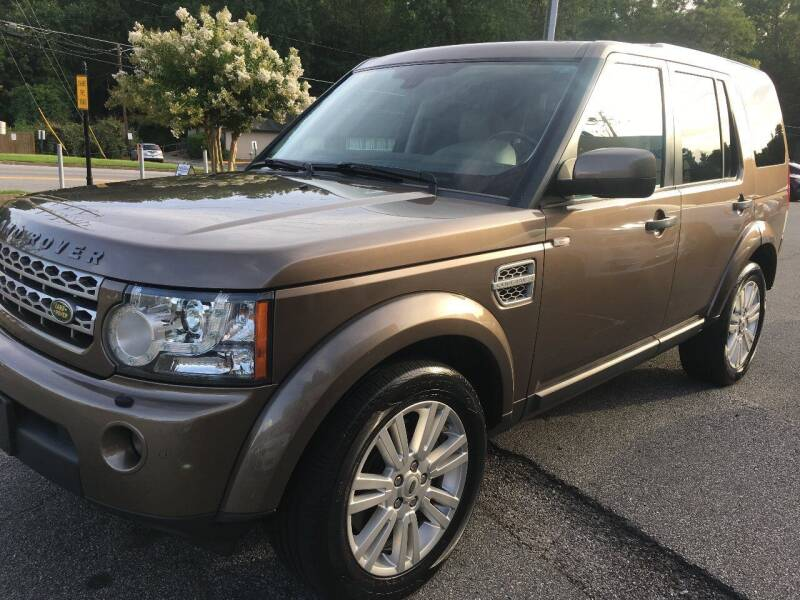 2010 Land Rover LR4 for sale at Highlands Luxury Cars, Inc. in Marietta GA