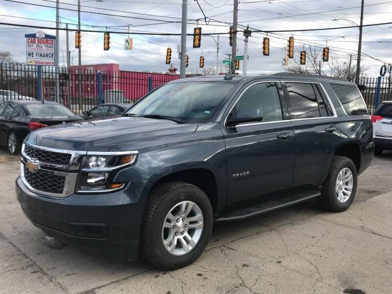 2020 Chevrolet Tahoe for sale at SKYLINE AUTO in Detroit MI