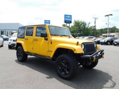 2015 Jeep Wrangler Unlimited for sale at Radley Cadillac in Fredericksburg VA
