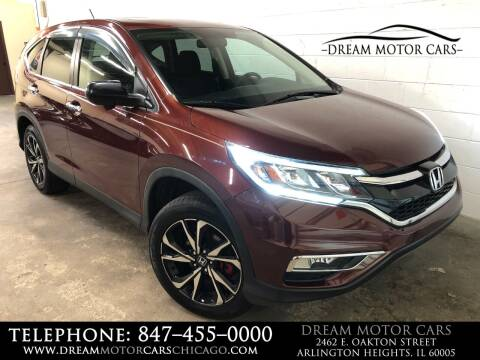 2015 Honda CR-V for sale at Dream Motor Cars in Arlington Heights IL