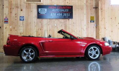 2000 Ford Mustang for sale at Boone NC Jeeps-High Country Auto Sales in Boone NC