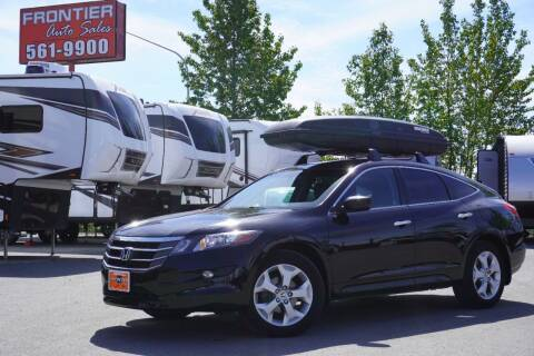 2012 Honda Crosstour for sale at Frontier Auto & RV Sales in Anchorage AK