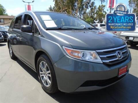 2013 Honda Odyssey for sale at Centre City Motors in Escondido CA