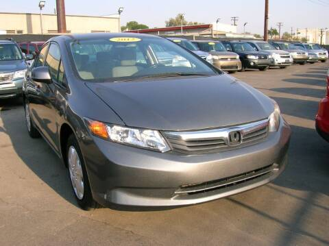 2012 Honda Civic for sale at Avalanche Auto Sales in Denver CO