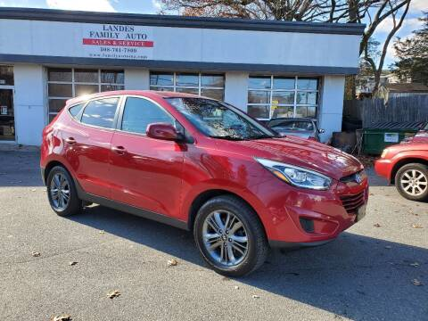 2015 Hyundai Tucson for sale at Landes Family Auto Sales in Attleboro MA