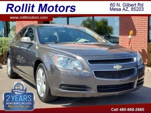 2010 Chevrolet Malibu for sale at Rollit Motors in Mesa AZ