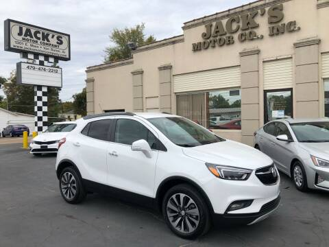 2020 Buick Encore for sale at JACK'S MOTOR COMPANY in Van Buren AR