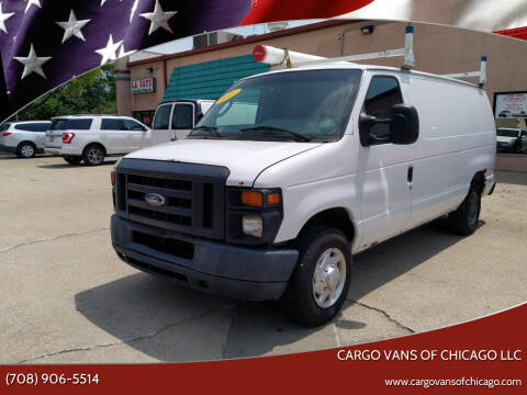 2011 Ford E-Series Cargo for sale at Cargo Vans of Chicago LLC in Mokena IL