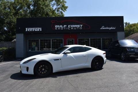 2018 Jaguar F-TYPE for sale at Gulf Coast Exotic Auto in Biloxi MS