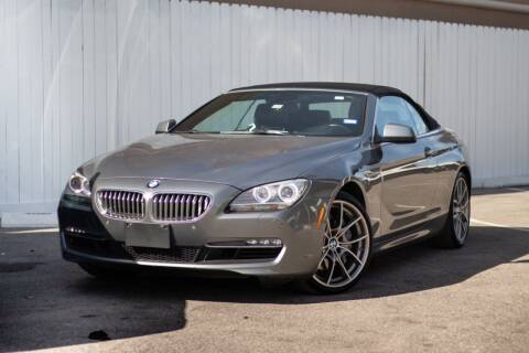 2012 BMW 6 Series for sale at Private Club Motors in Houston TX