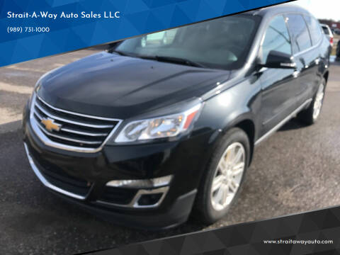 2014 Chevrolet Traverse for sale at Strait-A-Way Auto Sales LLC in Gaylord MI