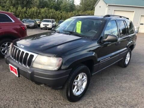 2003 Jeep Grand Cherokee for sale at FUSION AUTO SALES in Spencerport NY
