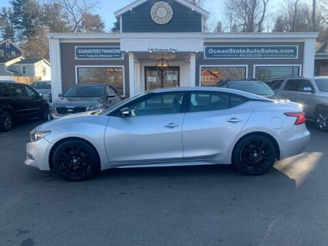 2016 Nissan Maxima for sale at Ocean State Auto Sales in Johnston RI