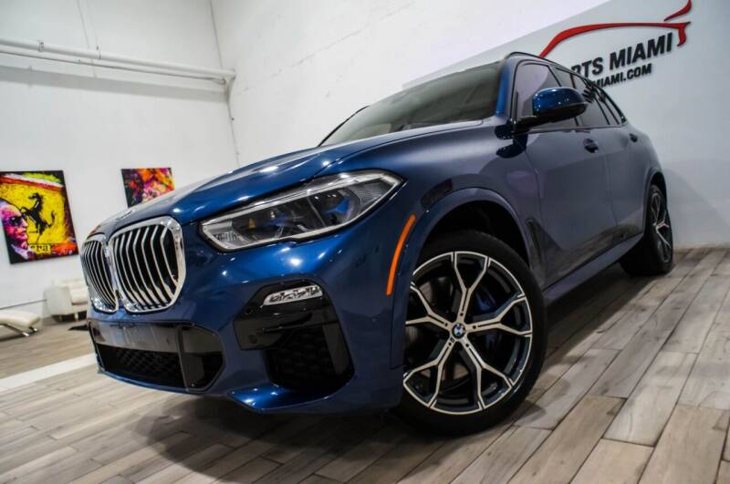 2019 BMW X5 for sale at AUTO IMPORTS MIAMI in Fort Lauderdale FL