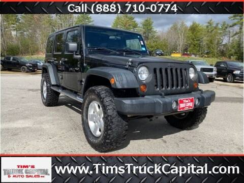 2012 Jeep Wrangler Unlimited for sale at TTC AUTO OUTLET/TIM'S TRUCK CAPITAL & AUTO SALES INC ANNEX in Epsom NH