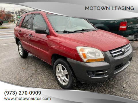 2008 Kia Sportage for sale at Motown Leasing in Morristown NJ