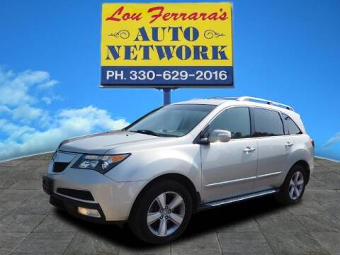 2013 Acura MDX for sale at Lou Ferraras Auto Network in Youngstown OH