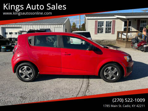 2013 Chevrolet Sonic for sale at Kings Auto Sales in Cadiz KY