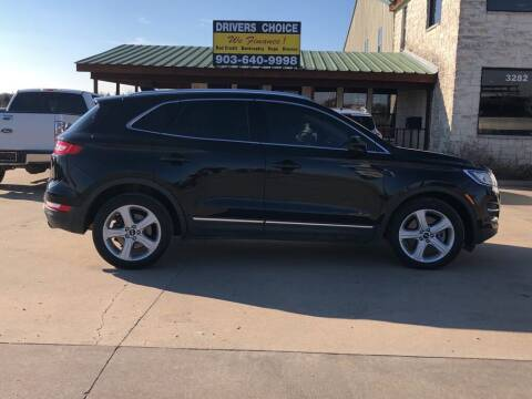 2017 Lincoln MKC for sale at Driver's Choice in Sherman TX
