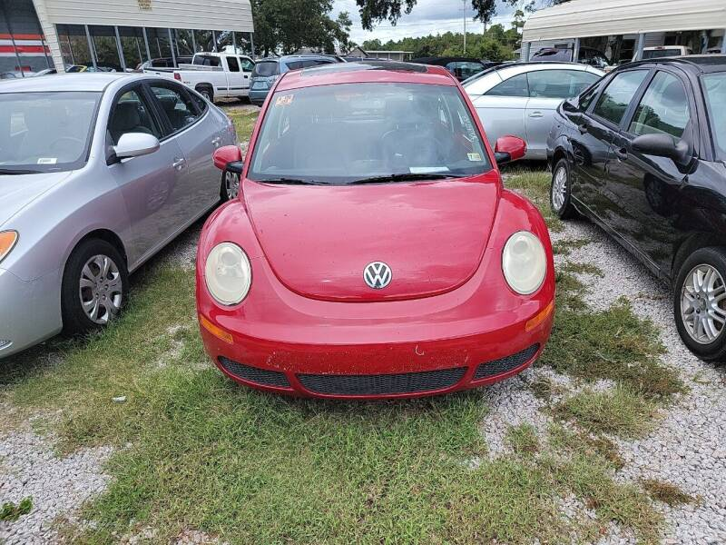 2008 Volkswagen New Beetle for sale at Wally's Cars ,LLC. in Morehead City NC