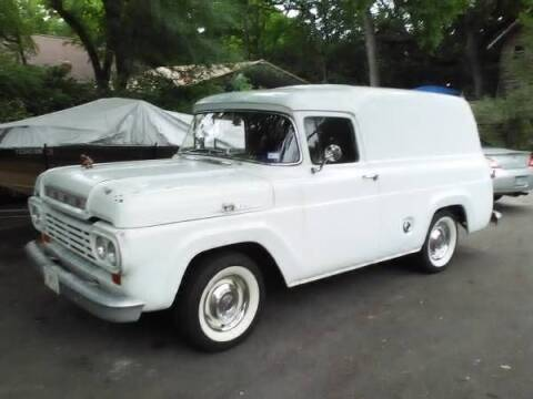 1959 Ford Panel Truck for sale at Classic Car Deals in Cadillac MI