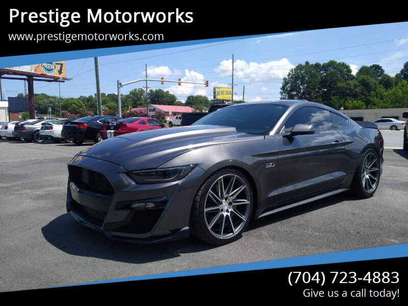 2015 Ford Mustang for sale at Prestige Motorworks in Concord NC