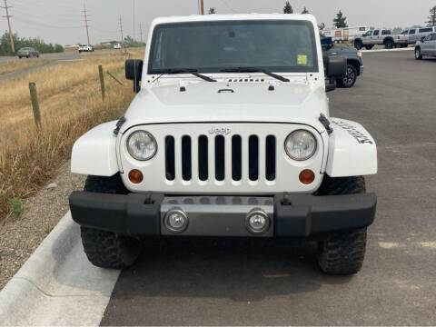 2011 Jeep Wrangler for sale at Snyder Motors Inc in Bozeman MT