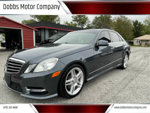 2013 Mercedes-Benz E-Class for sale at Dobbs Motor Company in Springdale AR