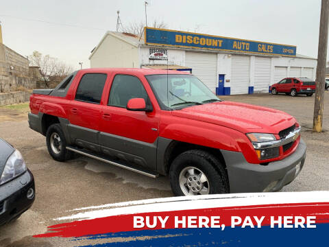 2002 Chevrolet Avalanche for sale at WF AUTOMALL in Wichita Falls TX