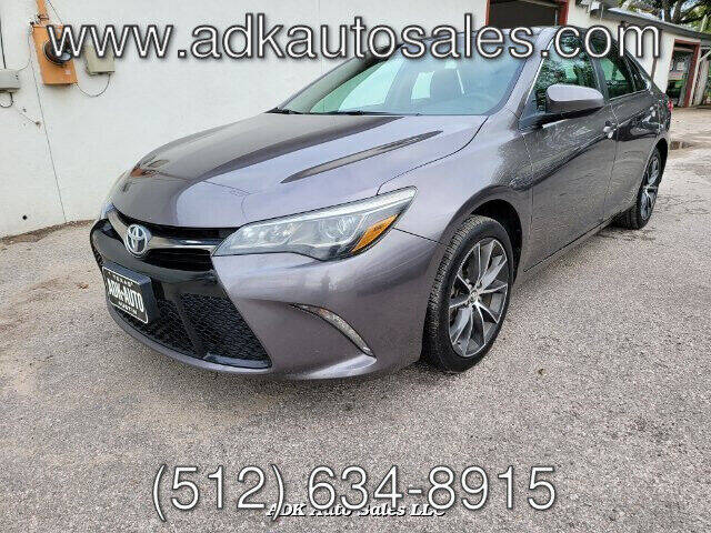 2017 Toyota Camry for sale at ADK AUTO SALES LLC in Austin TX