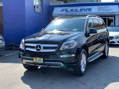 2014 Mercedes-Benz GL-Class for sale at AGM AUTO SALES in Malden MA
