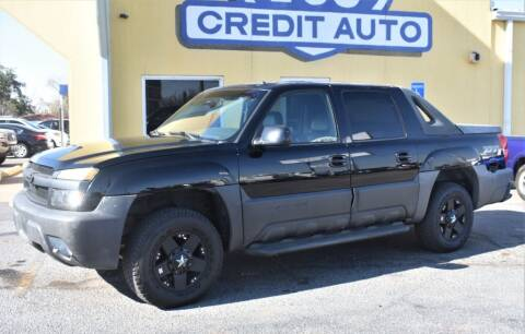 2002 Chevrolet Avalanche for sale at Buy Here Pay Here Lawton.com in Lawton OK