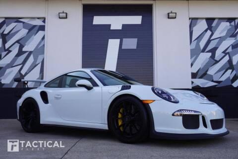 2016 Porsche 911 for sale at Tactical Fleet in Addison TX